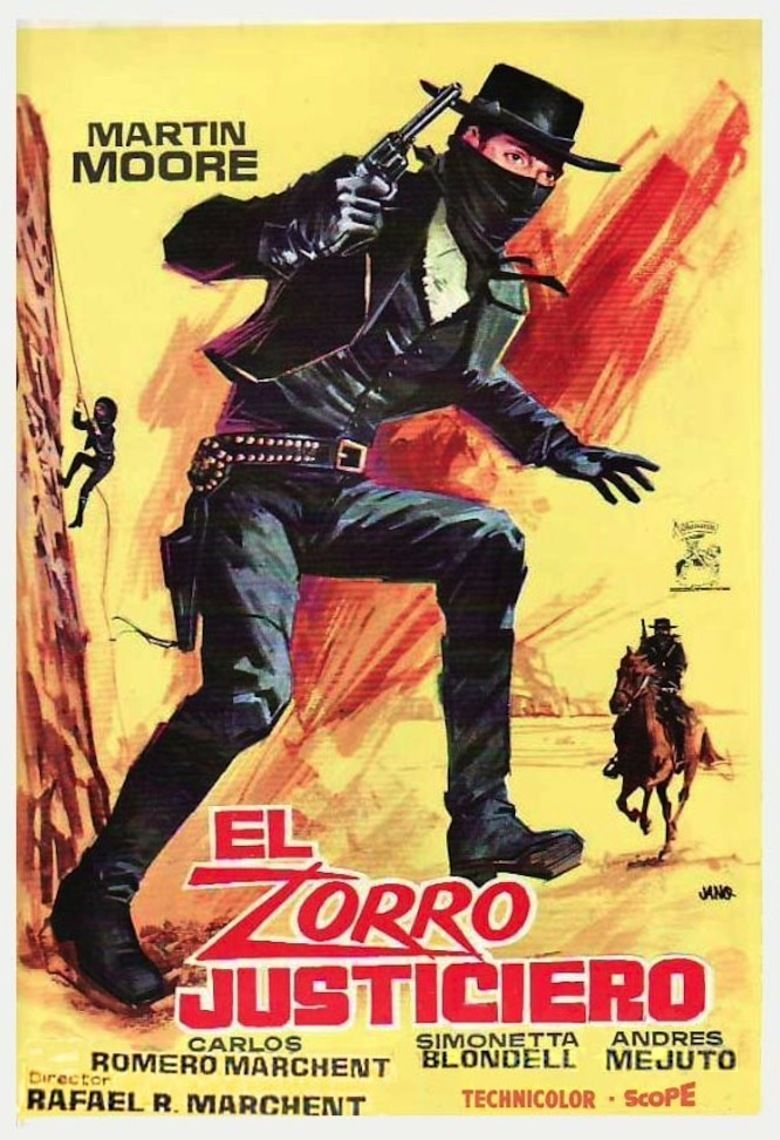 The Avenger, Zorro movie poster