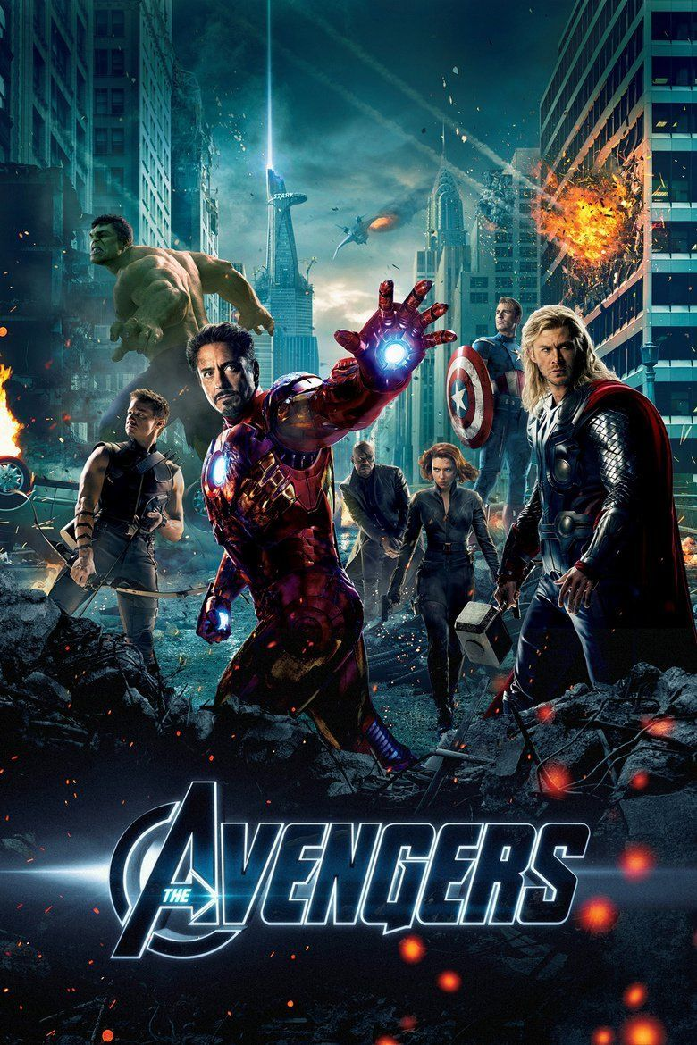 The Avengers (2012 film) movie poster