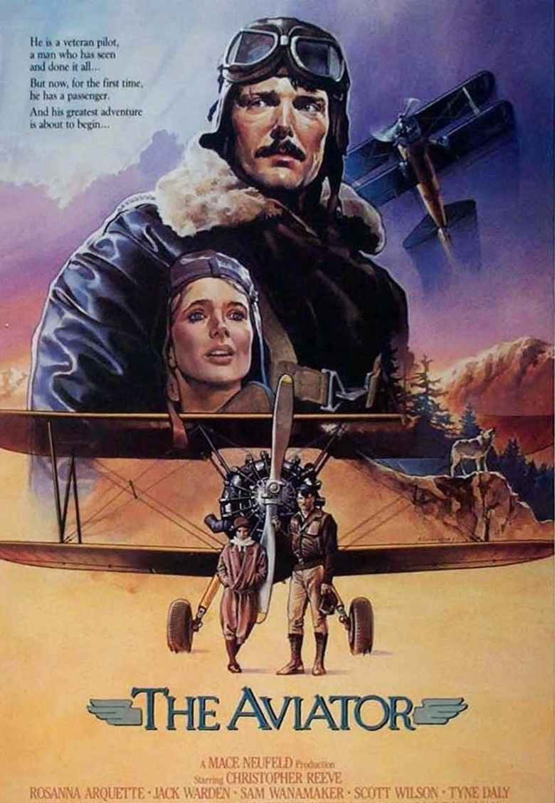 The Aviator (1985 film) movie poster