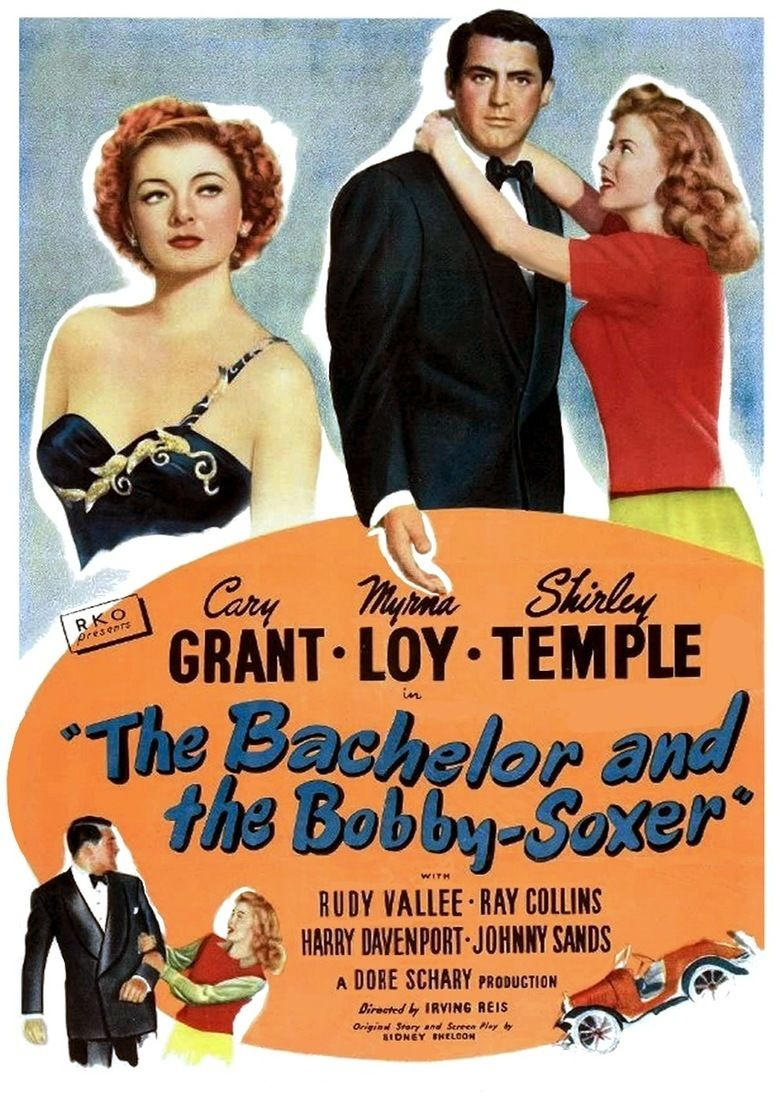 The Bachelor and the Bobby Soxer movie poster