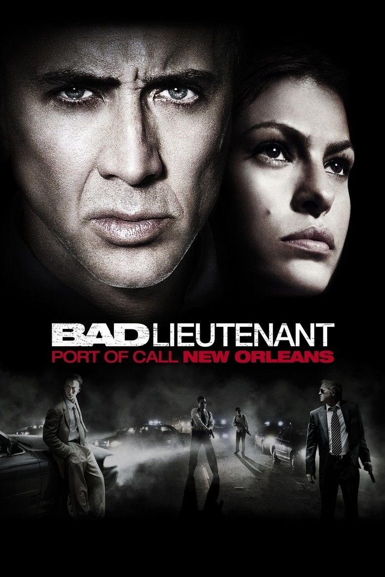 The Bad Lieutenant: Port of Call New Orleans movie poster