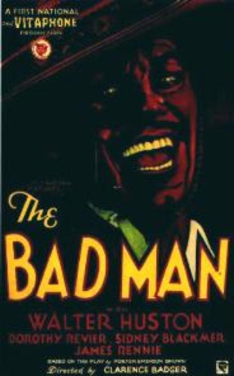The Bad Man (1930 film) movie poster