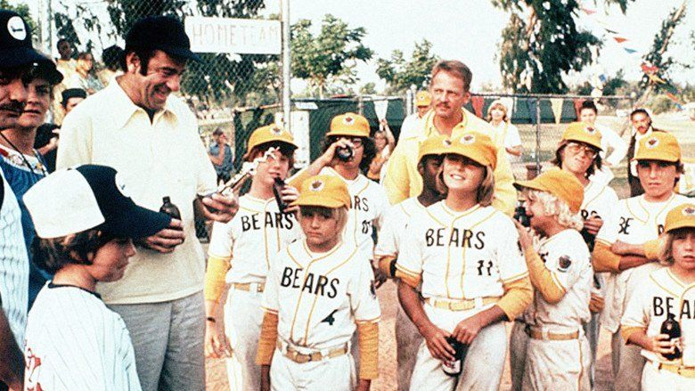 The Bad News Bears movie scenes