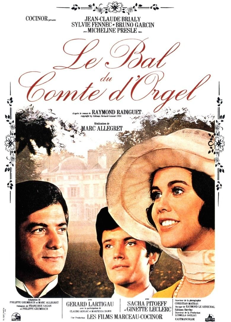 The Ball of Count Orgel movie poster