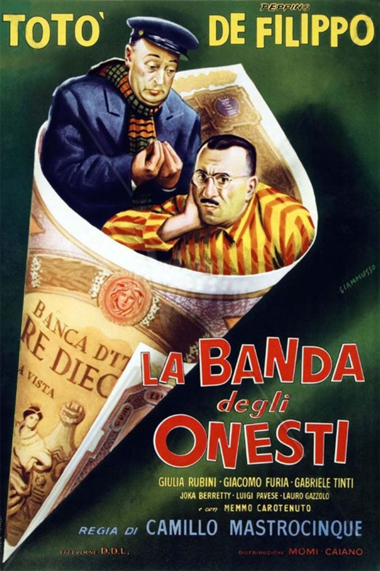 The Band of Honest Men movie poster