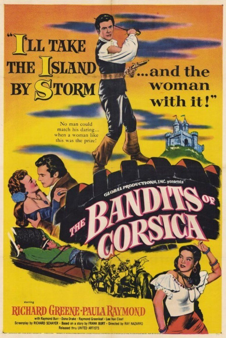 The Bandits of Corsica movie poster