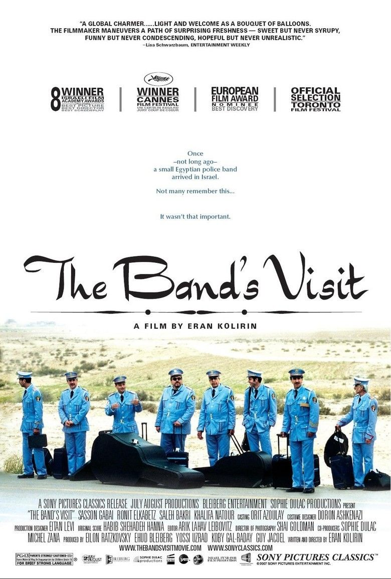 The Bands Visit movie poster