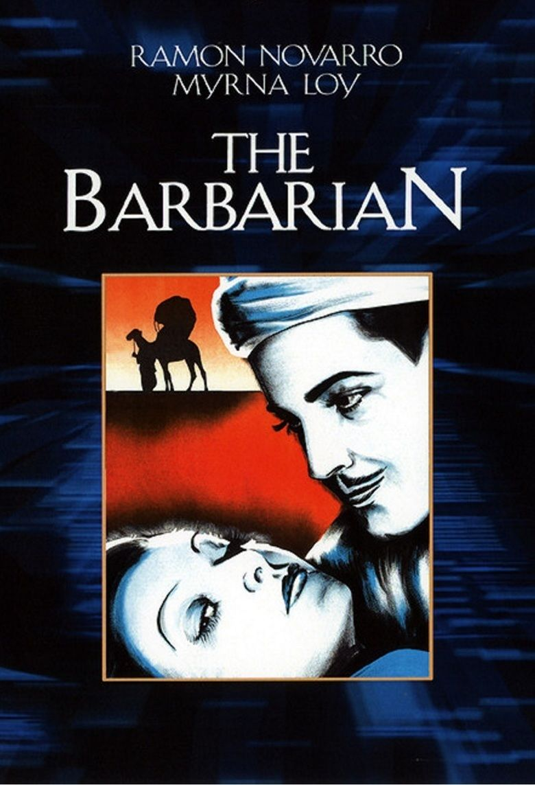 The Barbarian (1933 film) movie poster
