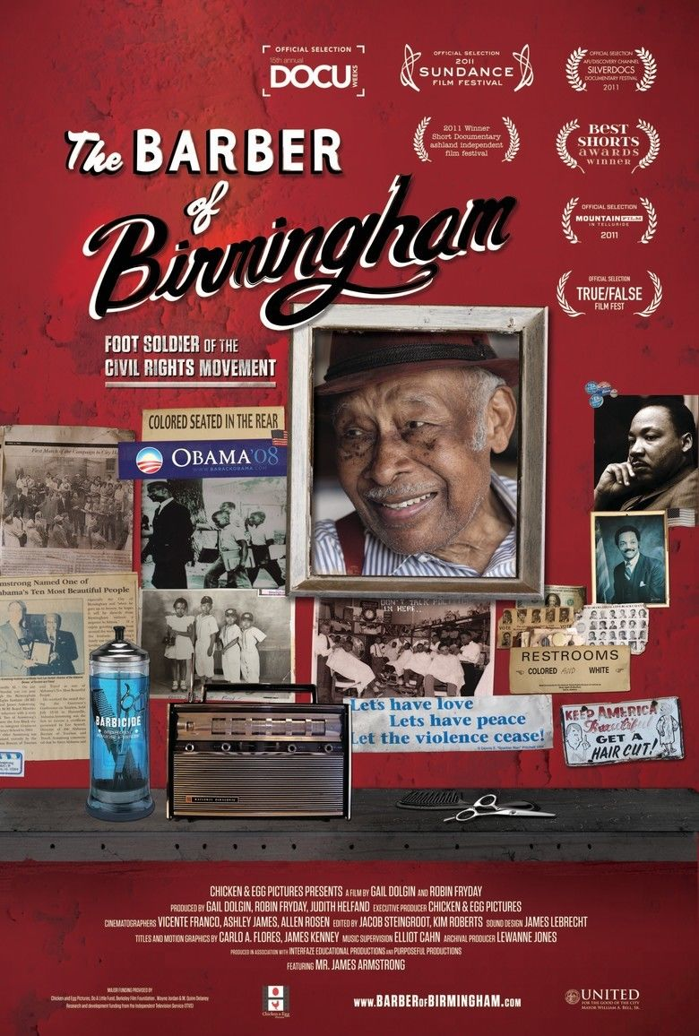 The Barber of Birmingham movie poster