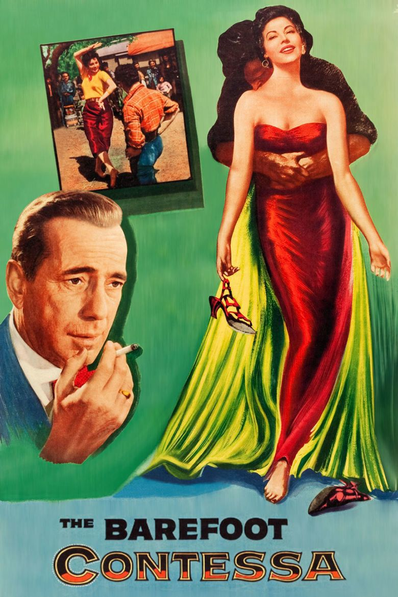 The Barefoot Contessa movie poster