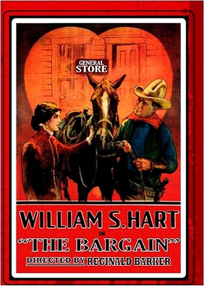 The Bargain (1914 film) movie poster