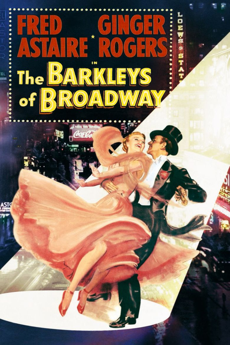 The Barkleys of Broadway movie poster