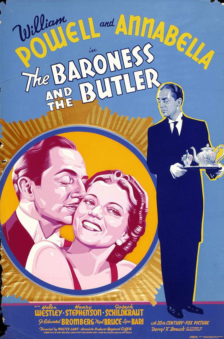 The Baroness and the Butler movie poster