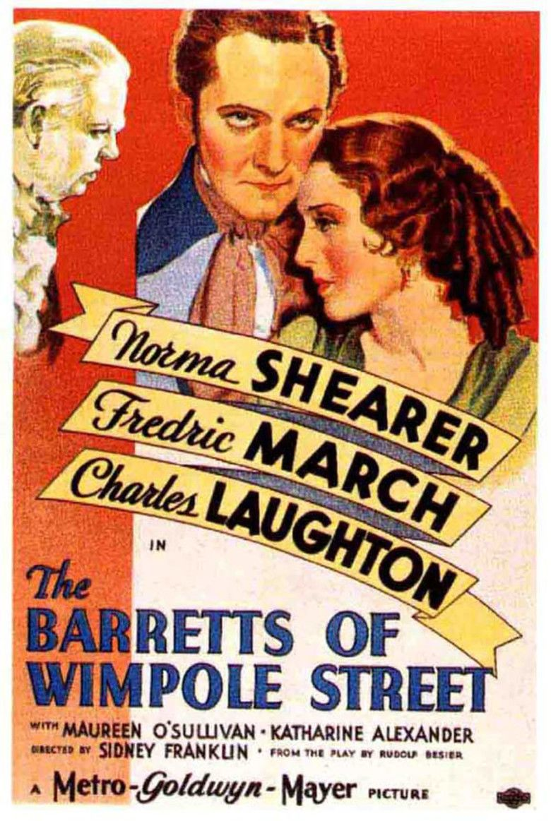 The Barretts of Wimpole Street (1934 film) movie poster
