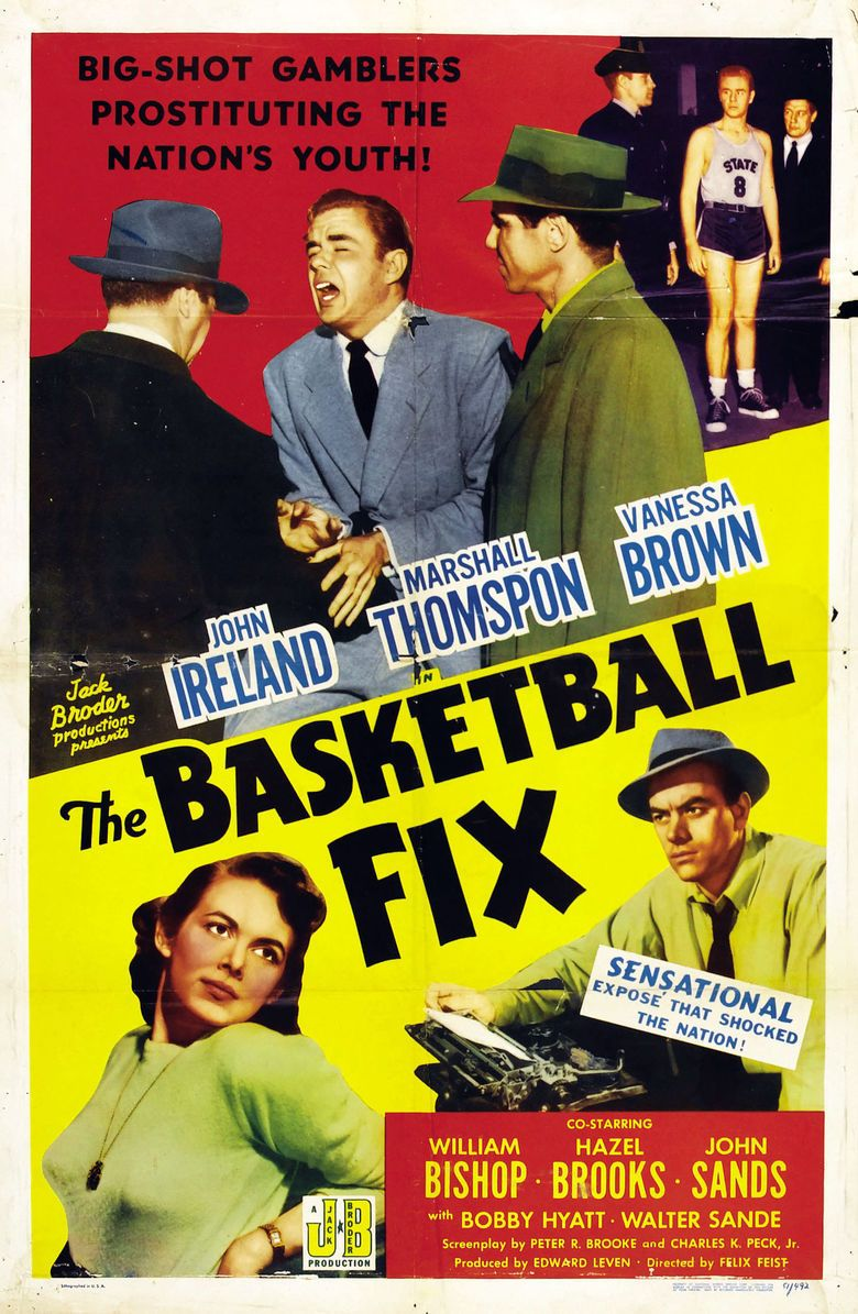 The Basketball Fix movie poster