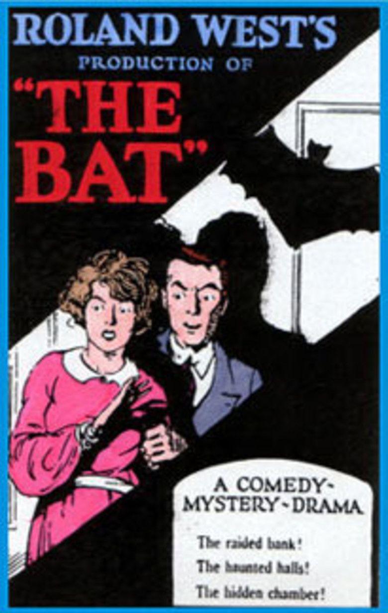 The Bat (1926 film) movie poster