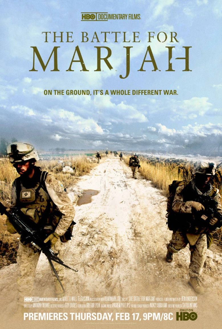 The Battle for Marjah movie poster