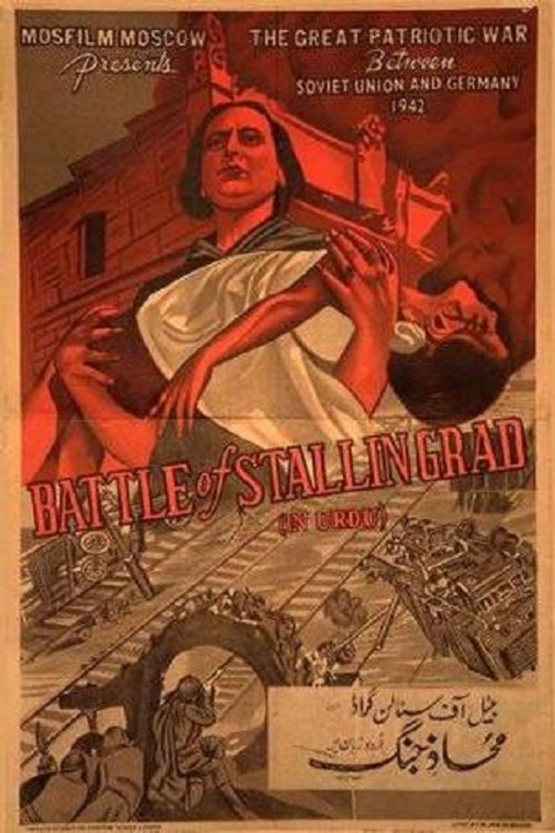 The Battle of Stalingrad (film) movie poster