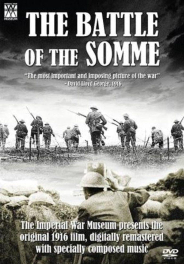 The Battle of the Somme (film) movie poster