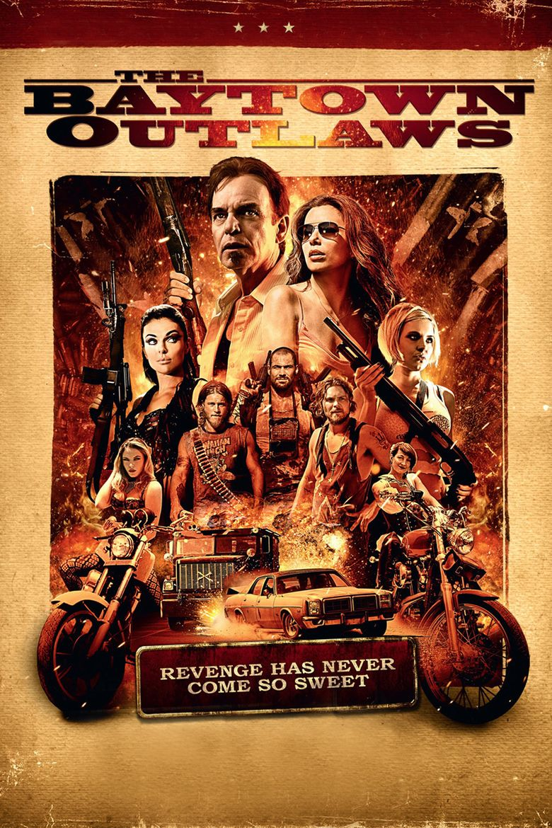The Baytown Outlaws movie poster
