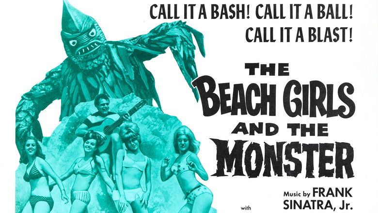 The Beach Girls and the Monster movie scenes