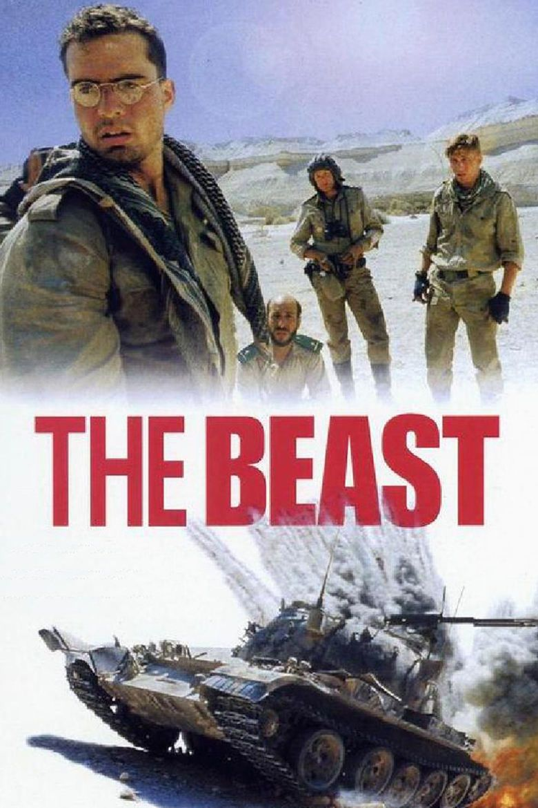 The Beast (1988 film) movie poster