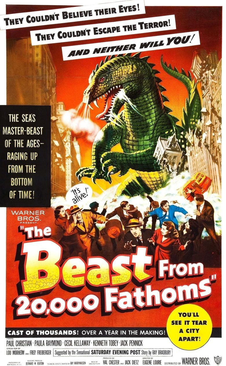 The Beast from 20,000 Fathoms movie poster