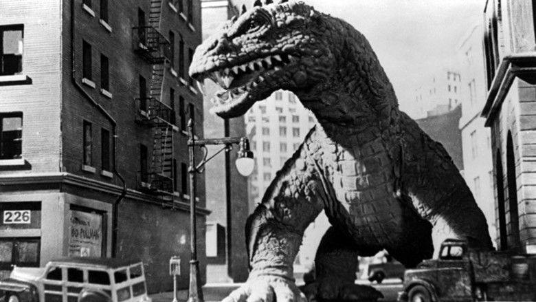 The Beast from 20,000 Fathoms movie scenes