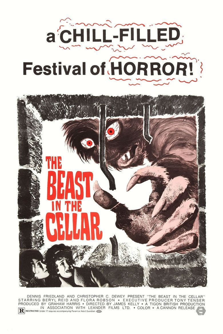 The Beast in the Cellar movie poster