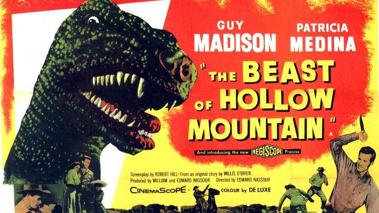 The Beast of Hollow Mountain movie scenes