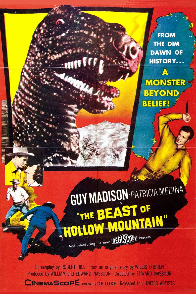 The Beast of Hollow Mountain movie poster