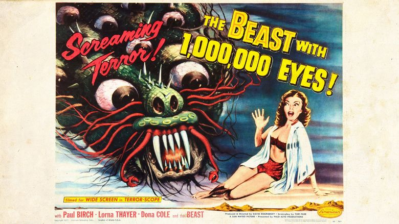 The Beast with a Million Eyes movie scenes