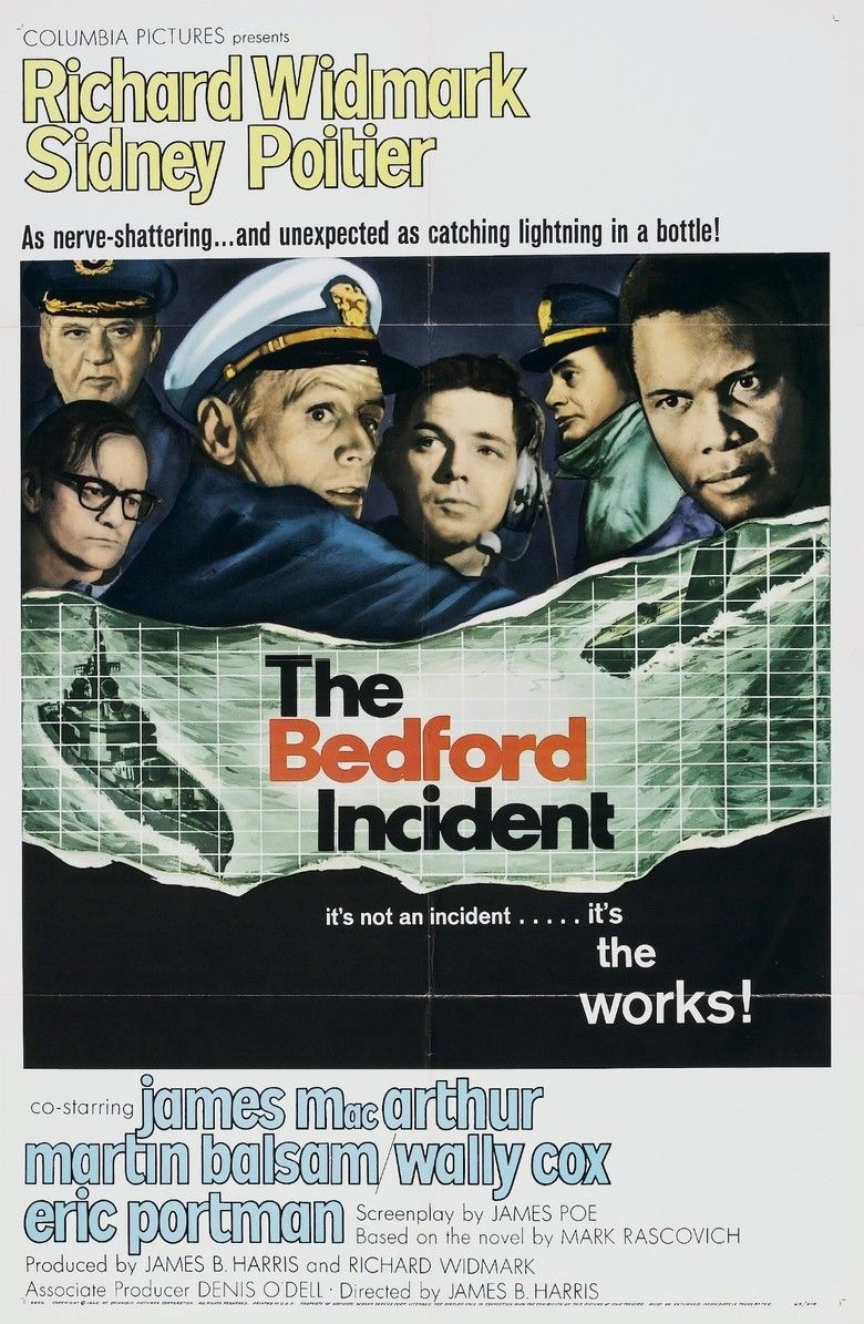 The Bedford Incident movie poster