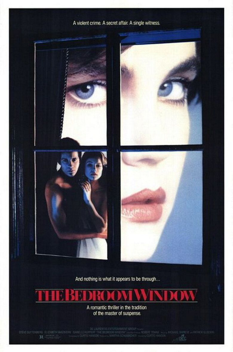 The Bedroom Window movie poster