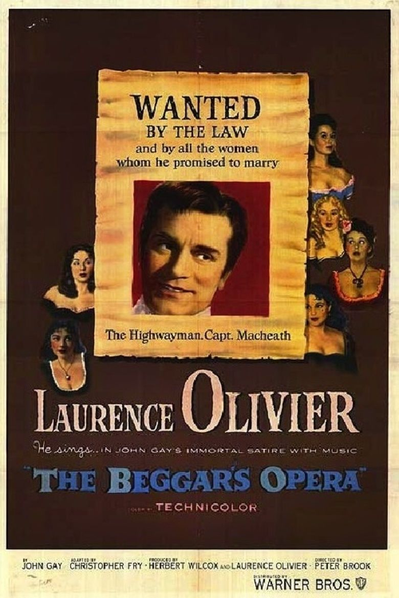 The Beggars Opera (film) movie poster