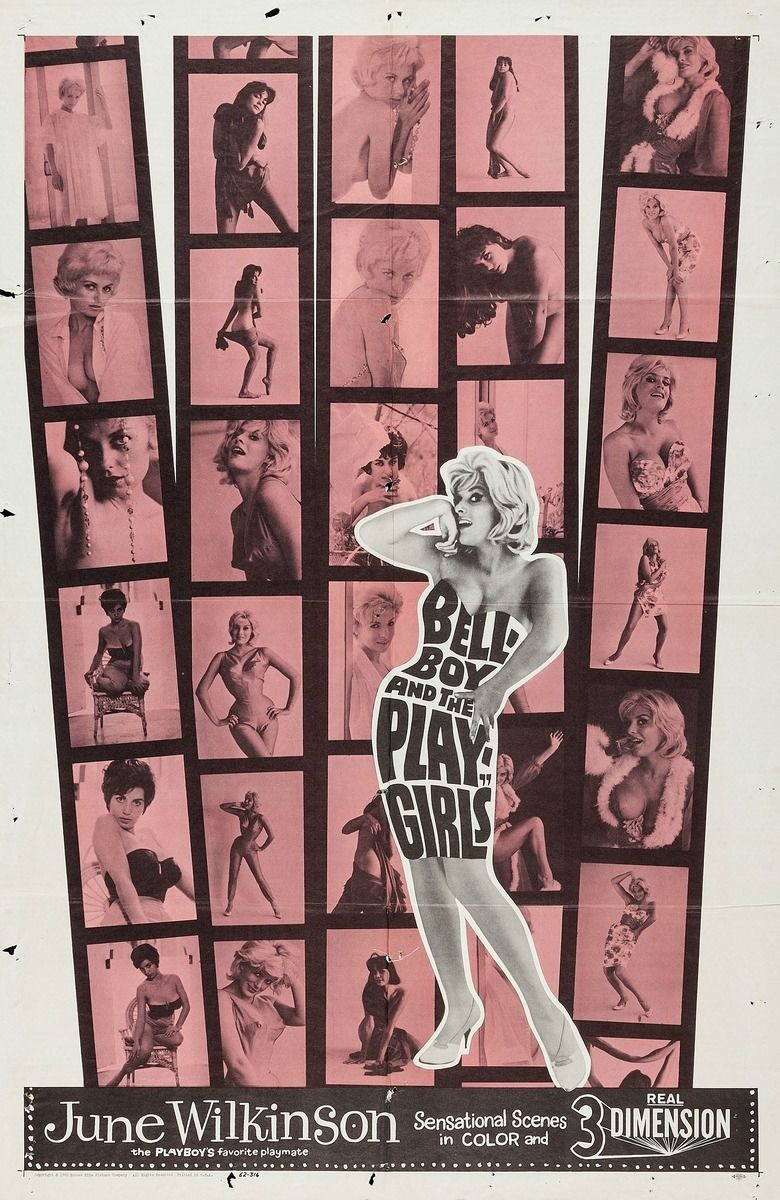 The Bellboy and the Playgirls movie poster