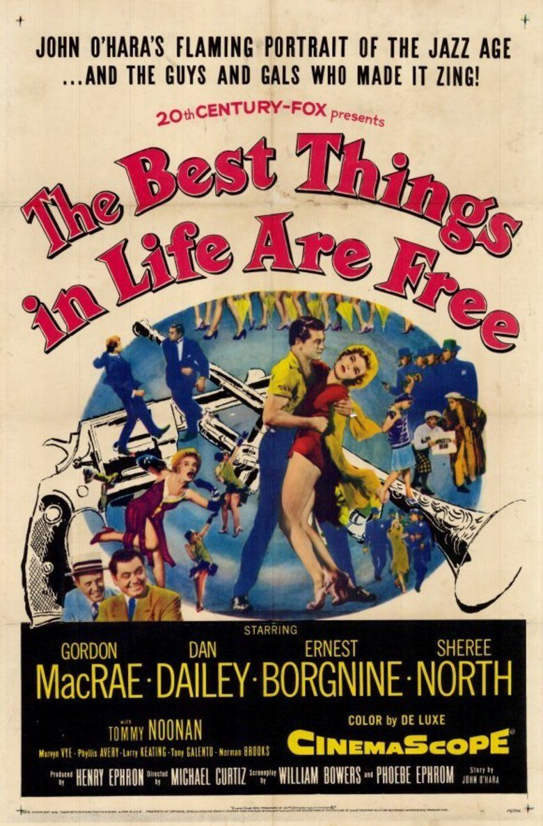 The Best Things in Life Are Free (film) movie poster