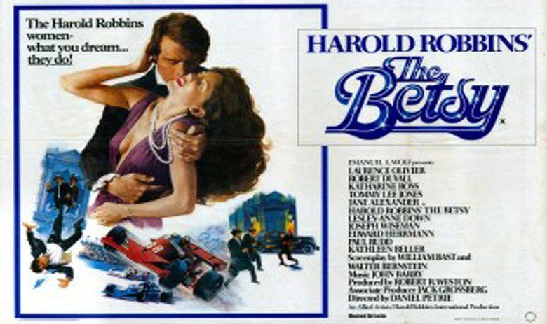 The Betsy movie scenes