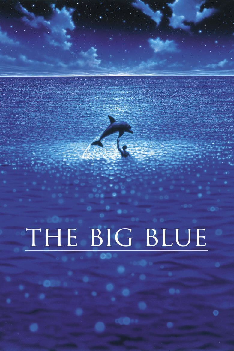 The Big Blue movie poster