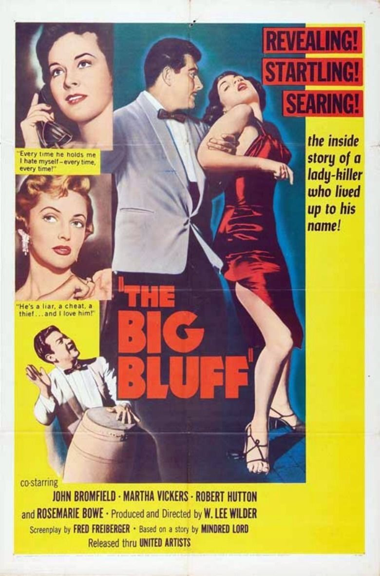 The Big Bluff movie poster
