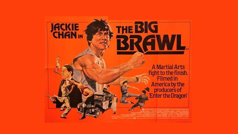 The Big Brawl movie scenes