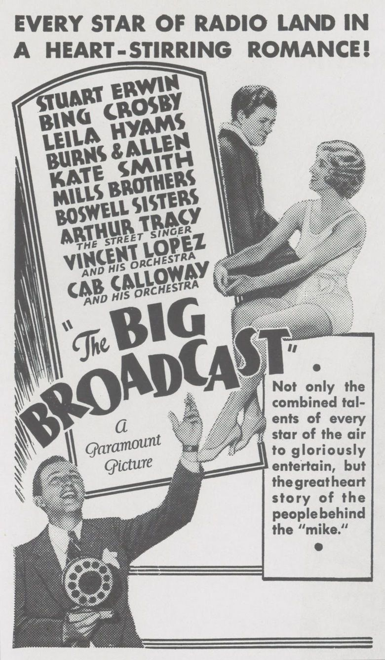 The Big Broadcast movie poster