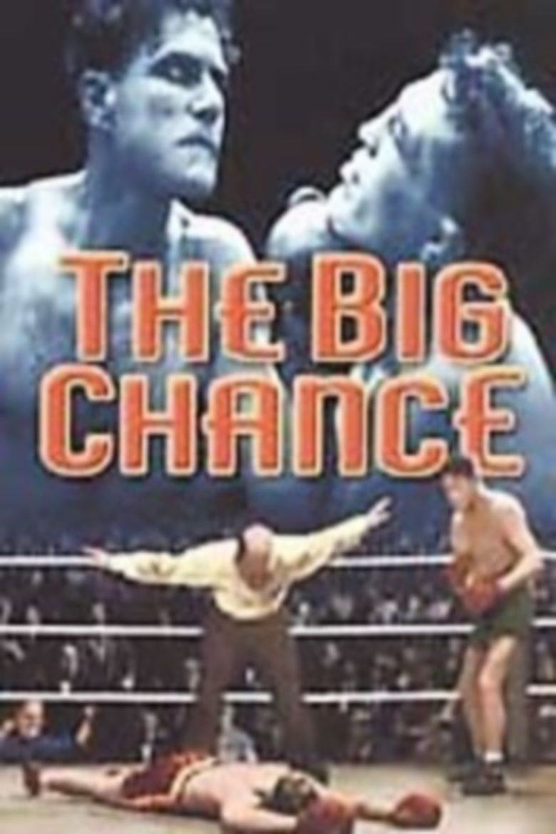 The Big Chance (1933 film) movie poster