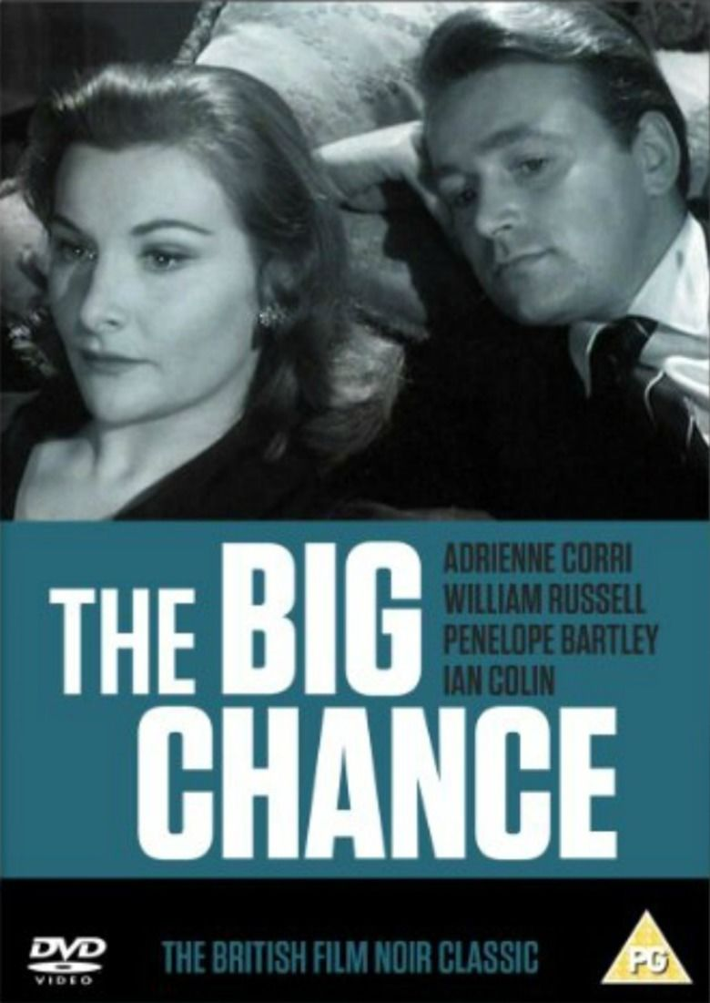 The Big Chance (1957 British film) movie poster