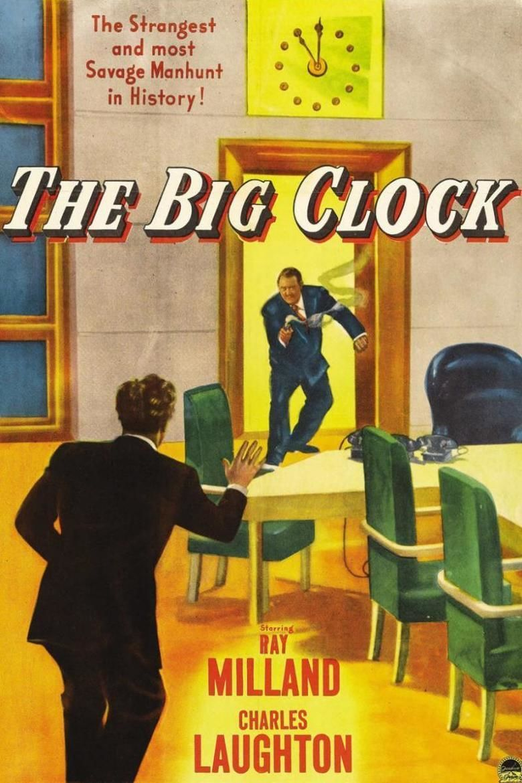 The Big Clock (film) movie poster