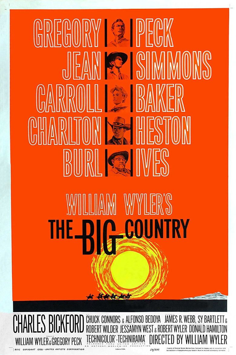 The Big Country movie poster
