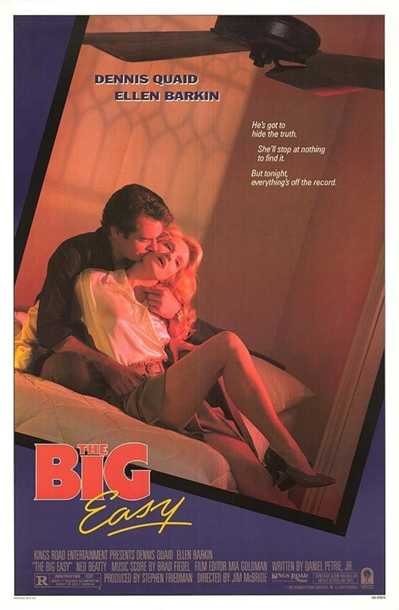 The Big Easy (film) movie poster