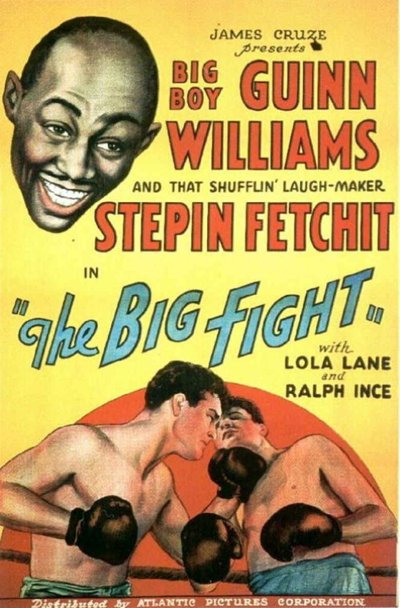 The Big Fight (1930 film) movie poster