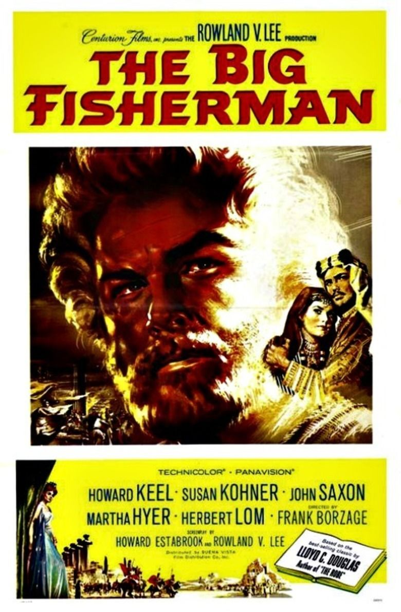 The Big Fisherman movie poster