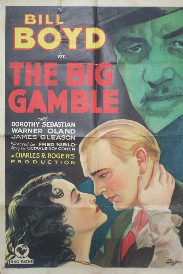 The Big Gamble (1931 film) movie poster